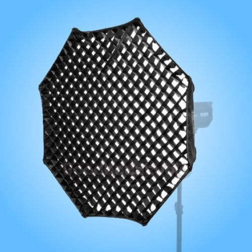 Godox Octagon 120cm 48 Grid Honeycomb Softbox for Broncolor Compuls (A) Strobe 70cm white portable honeycomb grid beauty dish softbox for broncolor pulso compuls a flash strobe