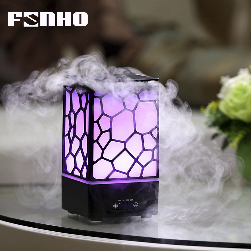 FUNHO Aroma Ultrasonic Humidifier Air USB Led Night Lights humidificador Aromatherapy Essential Oil Diffuser For Home Office SLF цена и фото