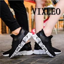 VIXLEO Casual Shoes Men Fashion Sport Solid Flat Comfortable Breathable Superstar Trainers Black Bottom Ultra Boosts Zapatillas