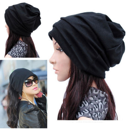 Dual - use Hats Women Men Scarf  Cool Fashion Slouch Winter Knit Scarf Hip-Hop Hats Ear cap