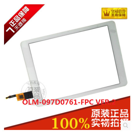 Original 9.7 -inch tablet capacitive touch screen OLM-097D0761-FPC VER.2 free shipping
