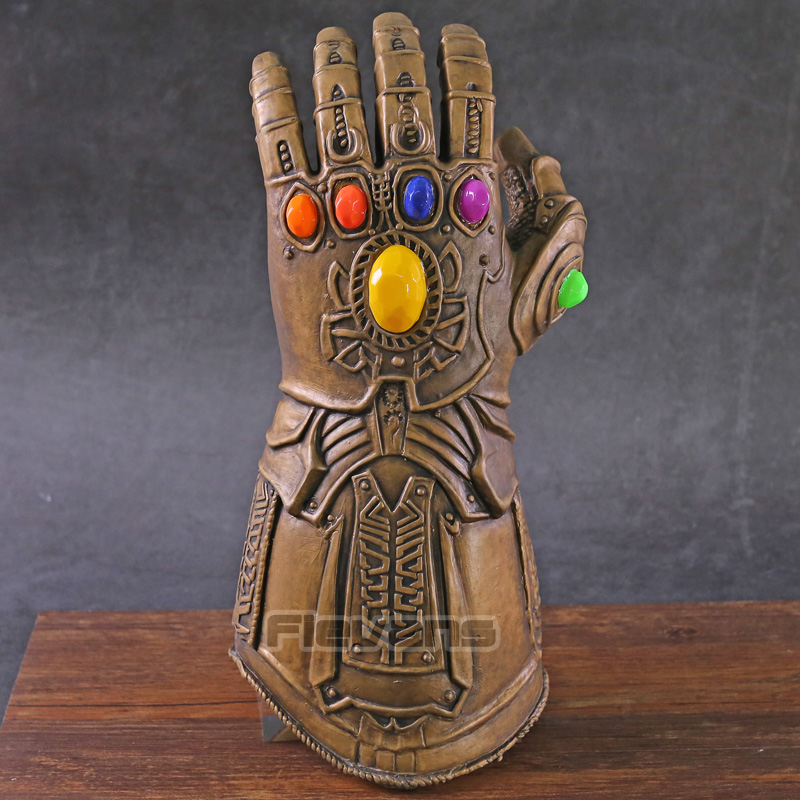 Avengers Endgame Infinity Gauntlet Thanos Cosplay Glove with LED Light PVC Action Figure Collectible Model ToyAvengers Endgame Infinity Gauntlet Thanos Cosplay Glove with LED Light PVC Action Figure Collectible Model Toy