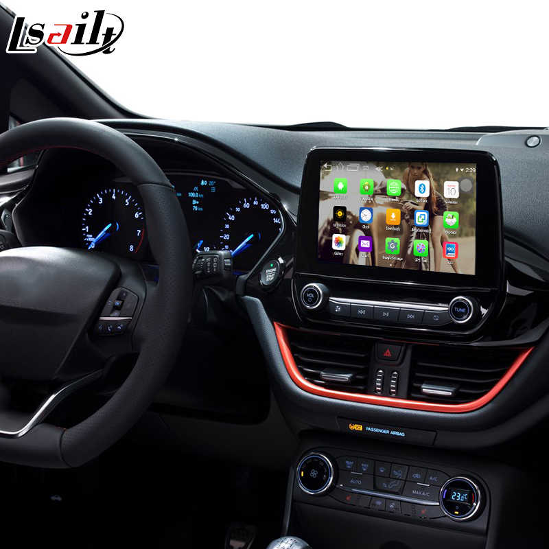 Android GPS navigation box for Ford Fiesta etc video interface box SYNC 3  mirror link youtube play waze rear view Carplay