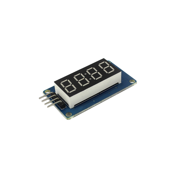 4 Digits Digital Tube LED Display Module With Clock Display TM1637