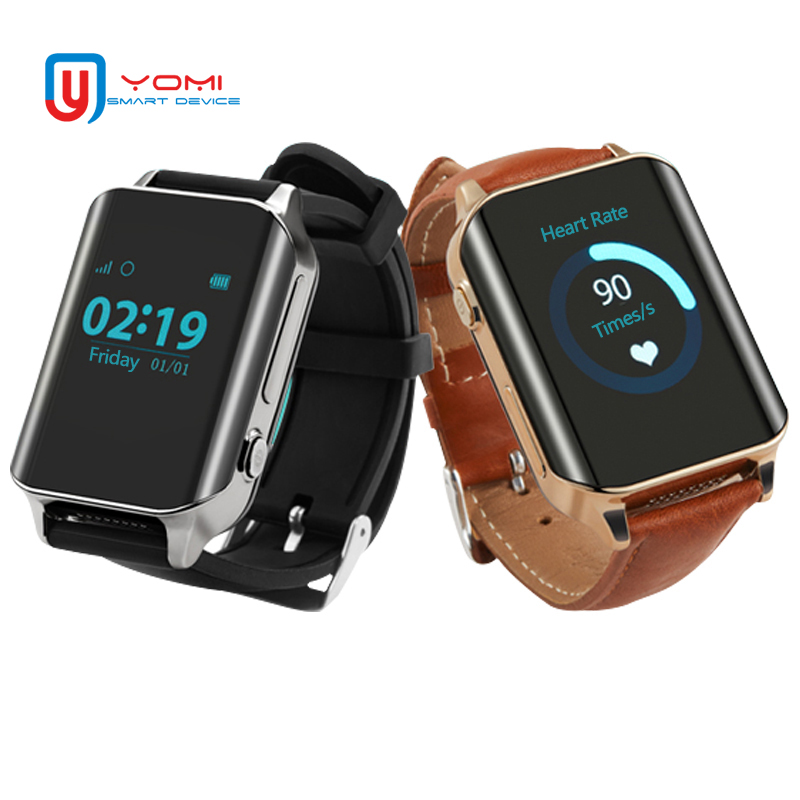 GPS Smart Watch for Elder Parents GPS WIFI LBS Tracker Heart Rate Monitor SOS Call Smart Reminder Wearable GPS Tracker Device