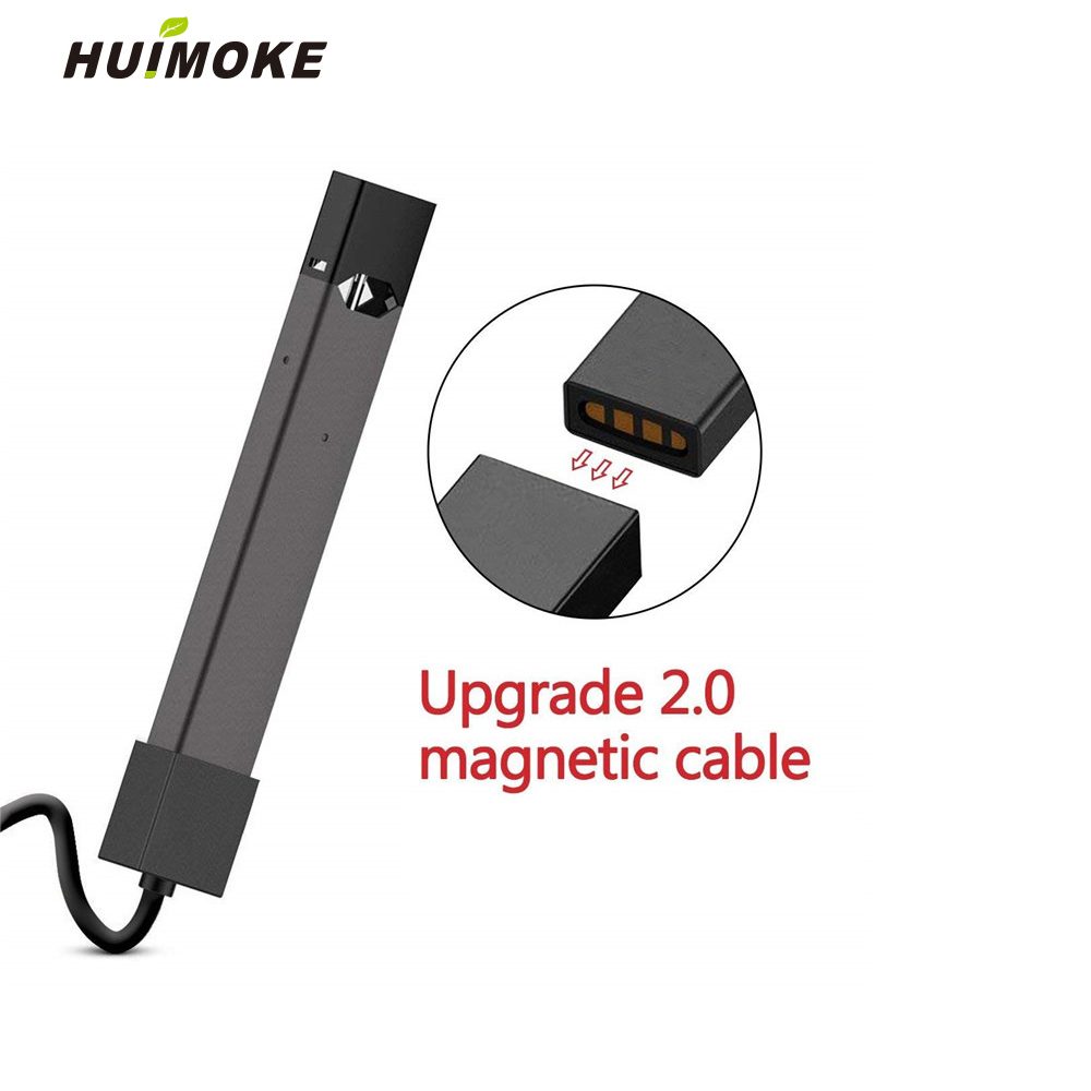 Universal Magnetic Adsorption Dual Port Universal USB Charger For JUUL 2 JUUL Cigarette Accessories