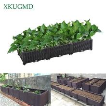 Balkon Planten Doos Tuinieren Groente Bloem Planten Artefact Indoor Groene Ingemaakte Milieubescherming Vervuiling Gratis