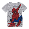 Spider Man Print Boys T-shirt Children's Clothing Kids Short Sleeve Cotton T-shirt 2016 Hot Sale Baby Boys O-neck Leisure Wear