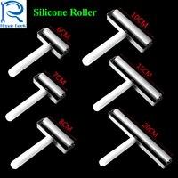 6 7 8 10 15 20 cm Yüksek Kaliteli anti-statik Silikon Rulo iPhone Samsung Için lcd telefon ekranı Film Yenilemek onarım Aracı