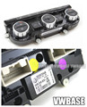 VW OEM 35D 907 044 A B 35D907044  Climatronic air conditioning control panel AC seat heater switch to B7 Passat CC 35D907044