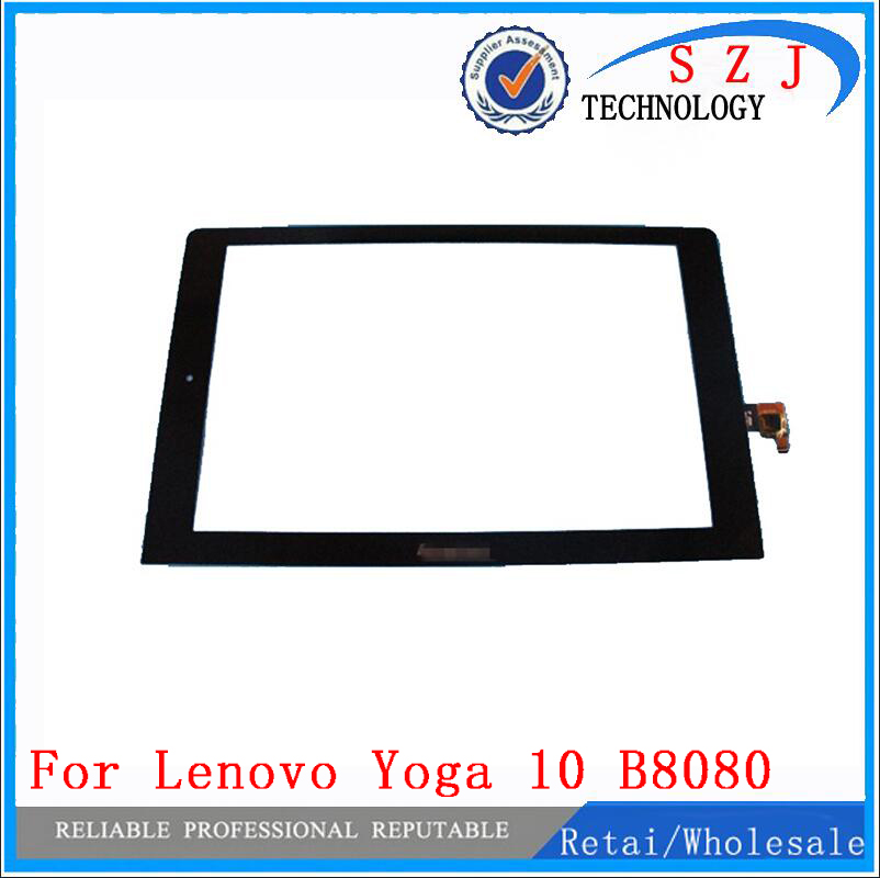 New 10.1'' inch tablet For Lenovo Yoga 10 B8080 Touch Screen Panel Digitizer with Digitizer glass Replacement Free shipping new 10 1 inch touch screen digitizer sensor panel for lenovo ideapad miix 325 tablet glass replacement free shipping