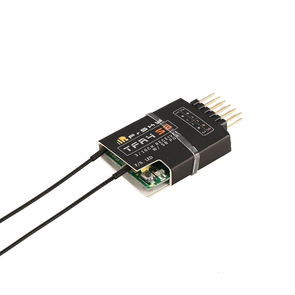 FrsKy TFR4SB 2.4 GHz systèmes aériens Micro télémétrie Compatible Futaba FASST FCC915MHZ S. BUS FrSky D12MB Servo récepteur 3-16CH