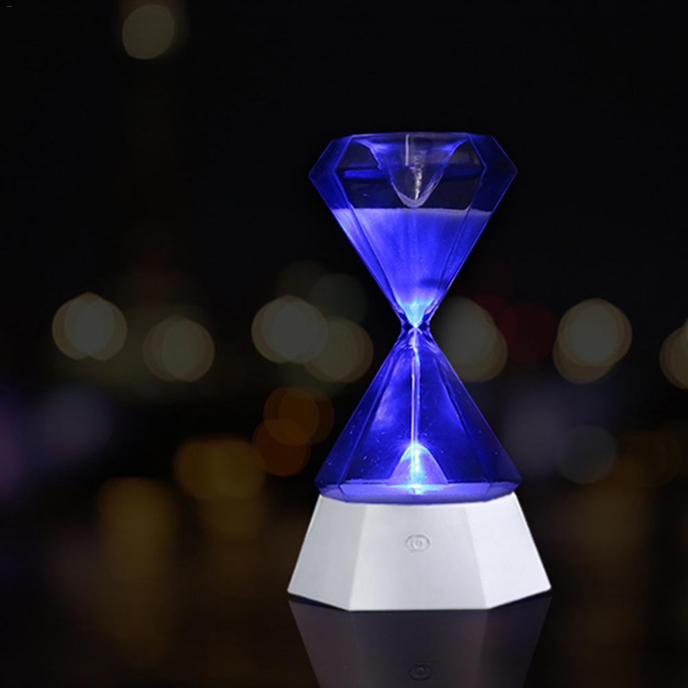 USB Hourglass Light Colorful LED Night Light Sand Timer For Kids Stay Focus  Sleep Sensor Light  Birthday Gifts  Home Decor