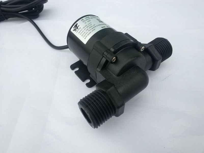 Bomba de circulación de agua caliente Solar sin escobillas Motor DC calentador de agua bomba sumergible de ciclo para coche DC 6 V-12 v/12 V-24 V