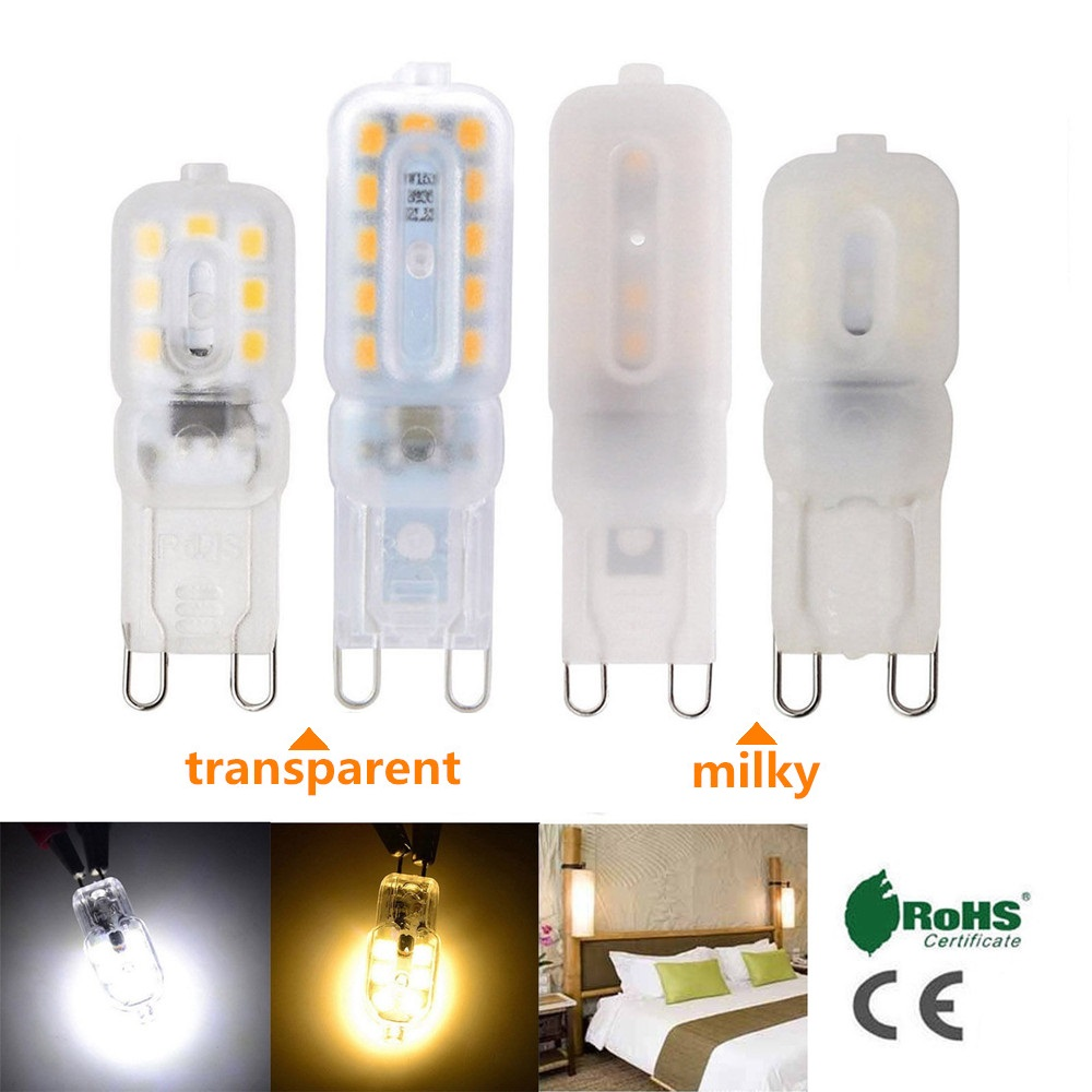 Mini G9 Bulb LED Corn Light SMD2835 3W 5W Spotlight For Chandelier 14LEDs 22LEDs AC 220V Replace 20W 40W Halogen Lamp