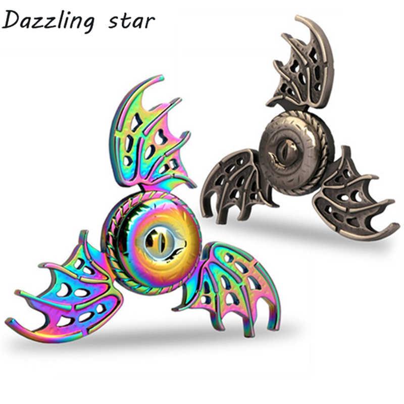 """Игра престолов Спиннеры """"Dragon Eye"""", металлическая ручная вертушка пальцевой Спиннер, игрушка для снятия стресса в три-Спиннер игрушки для страдающих аутизмом и СДВГ R188"""