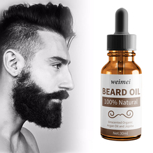 Natural Organic Men Growth Beard Oil Beard Wax balm Avoid Beard Hair Loss Products Leave-In Conditioner