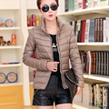 2017 high quality ultra light feather warm quilted winter white duck down jacket women plus size 3XL