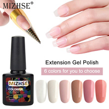 MIZHSE 10ml Acrylic Poly Extension Gel Quick Building Polish Nail Art Manicure Nails Extensions Hybrid Primer Base