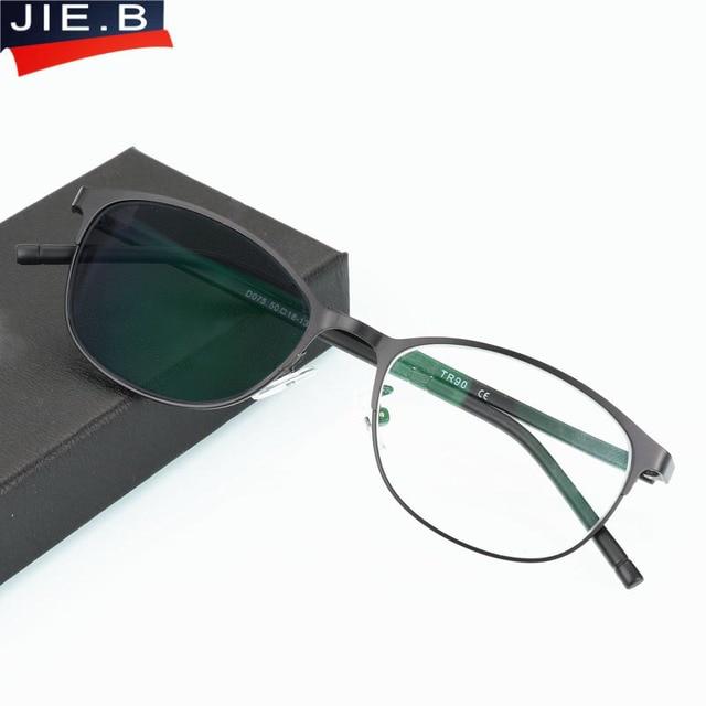 2018 Overgang Zonnebril Meekleurende Leesbril Brand Design Mannen Half Frame Vierkante Leesbril Met Dioptrie Bril