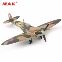 Toys For Boys Girls 1 72 Alloy Diecast Airplane UK 1941 Supermarine Spitfire Mk Vb Attack