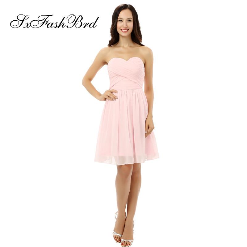 Vestido De Noche Ruffle Sweetheart A Line Mini Short Chiffon Elegant Evening   Dress   Women Party   Prom     Dresses   Vestito Lungo