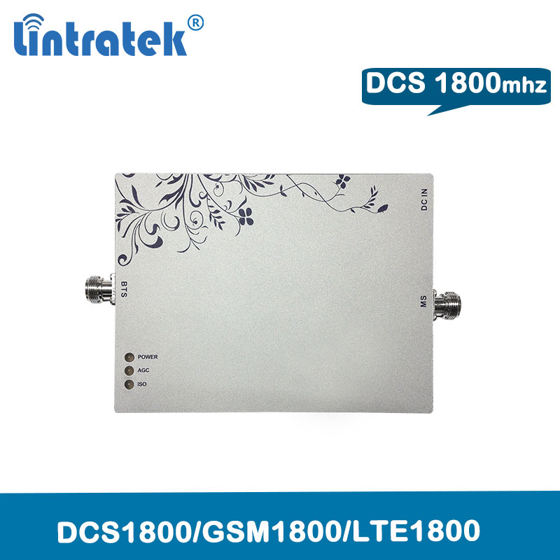 75dB Gain Lintratek 4G LTE 1800Mhz (FDD Band 3) Repeater MGC DCS 1800 Mobile Phone Signal Amplifier Repetidor Signal Celular