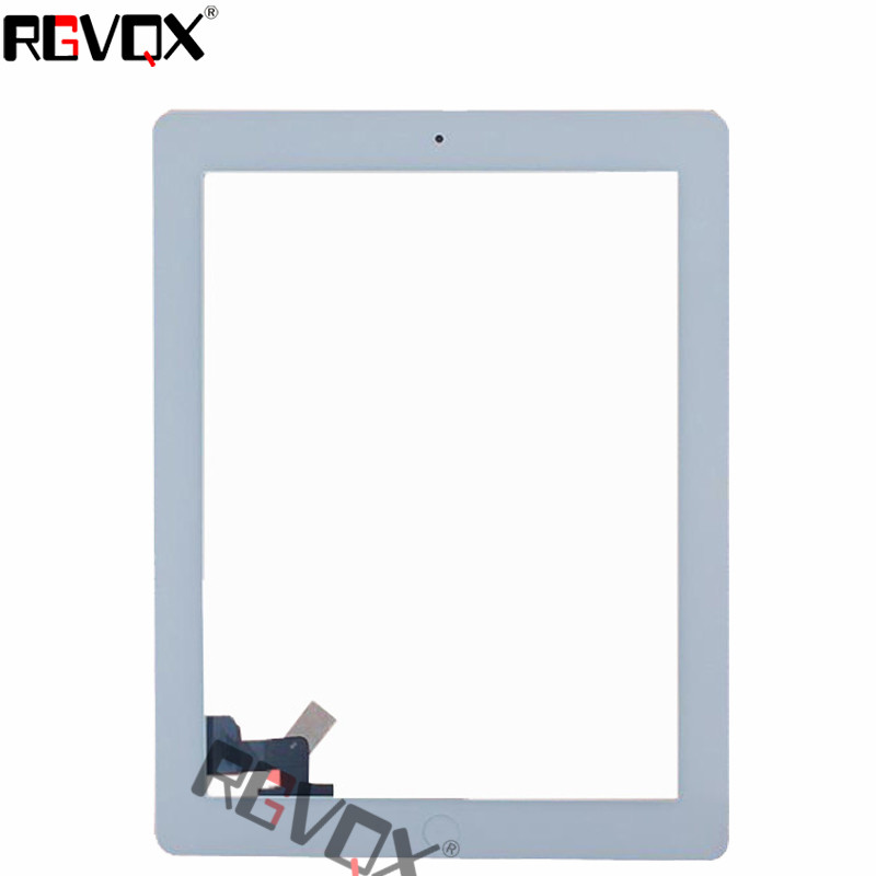 NEW Touch Screen Digitizer For IPAD 2 Original/Normal Black White Replacement Includes Home Button and flex + Camera Holder replacement lcd digitizer capacitive touch screen for lg vs980 f320 d801 d803 black