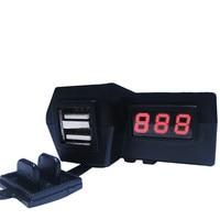 Usb zapalniczki samochodowej adapter wtyczki do gniazda zapalniczki samochodowej zapalniczki samochodowej 12 v Motocykl Podwójna Ładowarka USB