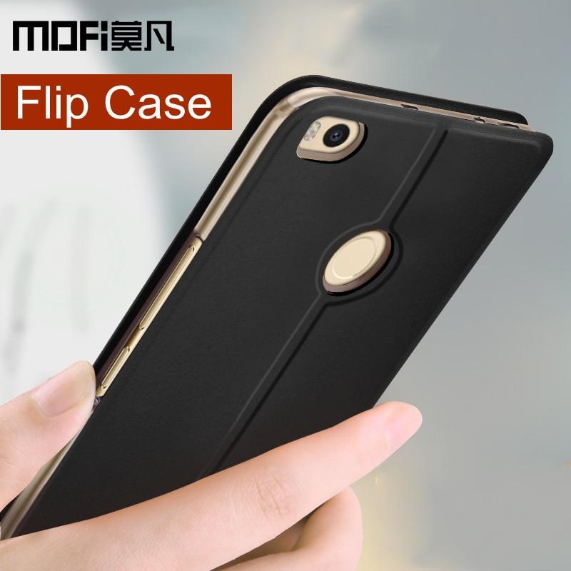 Xiaomi mi max 2 fall-abdeckung xiaomi max2 flip leder zurück silikon abdeckung luxury schützen capas MOFi original xiaomi mi max 2 fällen