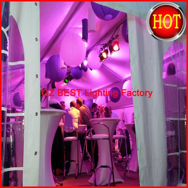 White Dj Wash Led Light Led Par Light 7x12w Rgbw 4in1 Led Par Light Stage Flat Slim Led Par Strobe Flash Light