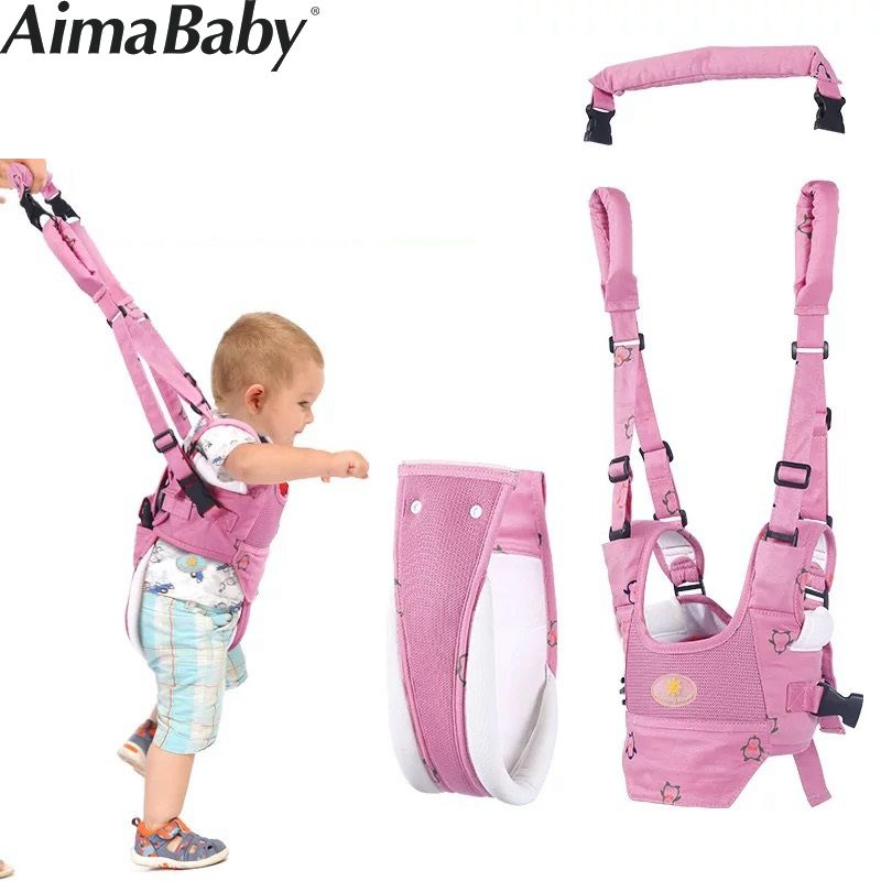 все цены на Baby Walker for children learning to walk baby harness backpack for children rein walkers for toddlers child harness toddler