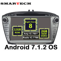 SMARTECH 2Din Octa Core Android 7 1 2 For Hyundai IX35 Tucson Car Radio Video Player