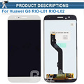 For Huawei G8 RIO-L01 RIO-L02 LCD Display +Touch Screen 100% New Digitizer Assembly Replacement Accessories For Huawei Ascend G8