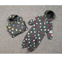 kids/boys/girls windproof / waterproof softshell hooded jumpsuit, slim shape design,  size 80 to 116