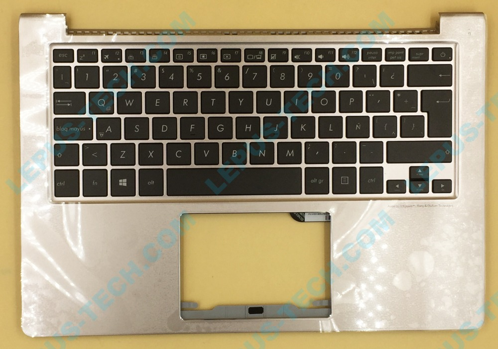 все цены на SP LA layout for Asus UX303 UX303LA backlit keyboard with palmrest top case backlight онлайн