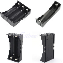 Plastic Parallel Battery Box Holder 18650 Rechargeable 3.7V 1/2/3/4pc Slot DIY Can Be Welded
