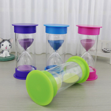 5/10/15/20/30 Minutes Hourglass Sand Clock Timer Countdown Timing Plastic Sandglass Home Decor Gift Home Decoration