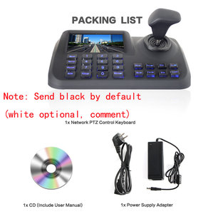 Image 3 - ONVIF Network Keyboard Controller 5 inch 3D Joystick HD LCD Display IP PTZ Keyboard Controller For High Speed Dome Camera
