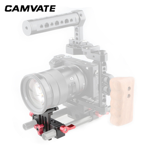 Image 4 - CAMVATE Lens Support Mount Rod Clamp Holder Bracket for 15mm Rod System Follow Focus C1107