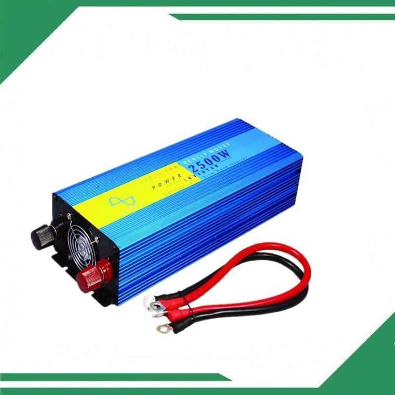 цена на 12v 2500w inverter 5kw pure sine wave, off grid tie, solar home inverter 2500W de potencia del convertidor