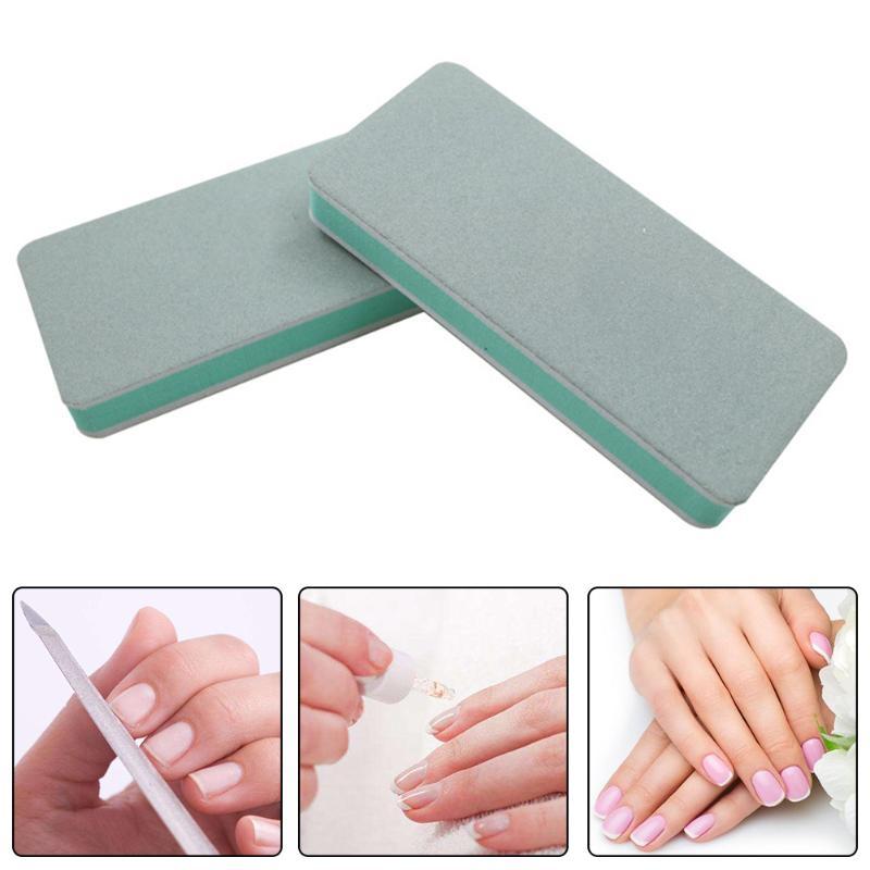 1pc Nail Buffer Block DIY Sanding Sponge Gel Nail File Buffer Block Nail Polish Manicure Pedicure Nail Art Tips Tool Hot Sale