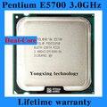 Пожизненная гарантия Pentium E5700 3.0 ГГц 2 м 800 двухъядерный настольных процессоров процессор 5700 сокет LGA 775 контакт. компьютер бесплатная доставка