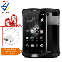 Blackview bv8000 pro смартфон tri-доказательство 4 г android 7.0 мобильный телефон mtk6757v окта основные 5.0 hd 6 ГБ + 64 ГБ 16.0mp 4180 мАч сотовый фононов