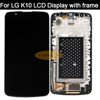 LCD display for LG K10 Display Screen with Frame Digitizer Assembly Display for LG K10 LCD K10 K430 K430DS K420N 420N K430DSY