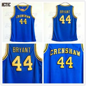 a418e05befbc ECTIC High School Basketball Jerseys 2018 S-XXL Love Basketball 44 Bryant  Jersey