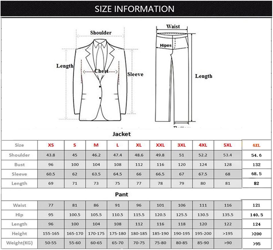Изготовленный на заказ Красный с черные мужские костюмы 2 шт. двубортный последний пиджак брюки жениха свадебные костюмы смокинги Terno Masculino - 3