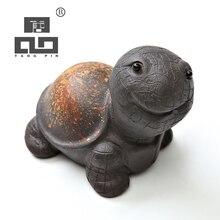 TANGPIN Исин фиолетовый глиняный чай для домашних животных черепаха милый zisha чайники аксессуары для чая