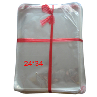 200 pçs/lote New limpar autoadesivo Seal sacos de plástico transparente Poly OPP sacos 34 * 24 cm