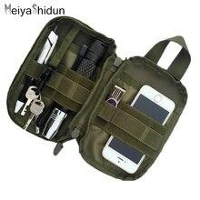 MeiyaShidun outdo Travel Pocket Organizer EDC MOLLE Military Waist Packs tactics Phone Pouch Bag Cordura Nylon Fanny Coin Purses